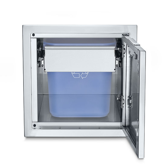 Infinite Series Small Built-In Cabinet with Garbage Holder