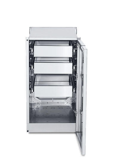 Infinite Series Cabinet Module with 3 Single Drawers