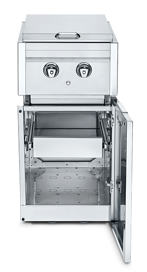 Infinite Series Cabinet Module with Dual Side Burner and 1 Single Drawer