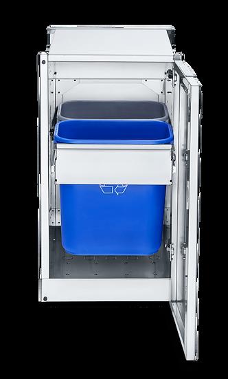 Infinite Series Modular Cabinet with Garbage Holder