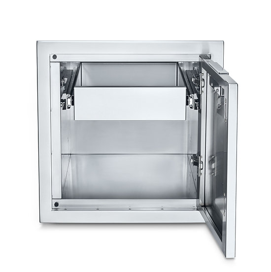 Infinite Series Small Built-In Cabinet with Single Drawer