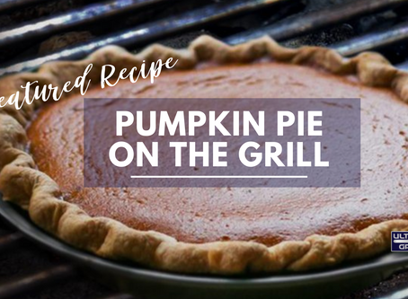 Pumpkin Pie On The Grill
