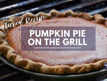 Pumpkin Pie On The Grill