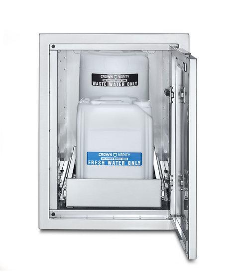 Infinite Series Large Built-In Cabinet with Water Bin Storage (Water Pump Includ