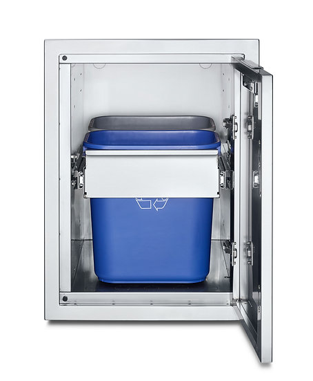 Infinite Series Large Built-In Cabinet with Garbage Holder