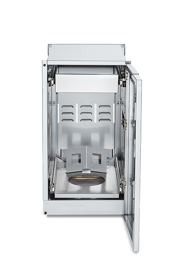 Infinite Series Cabinet Module with Propane Holder and 2 Single Drawers