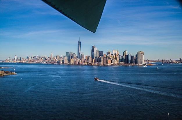 Crown Views . . .  New York City skyline