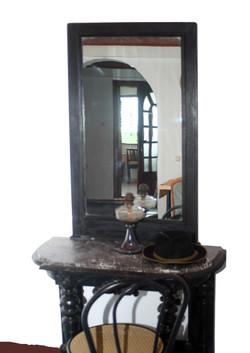 Toaleta hand-made cu oglinda