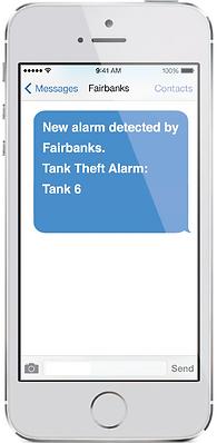 Tank Gauge Alert Phone