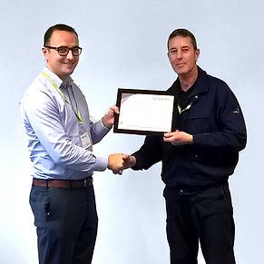 Steve Carey, On-site Services Technician, Fairbanks
