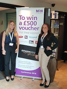 Sarah Fennell and Stacey Woolley at MRH Retailer Awards