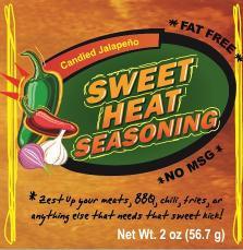 Sweet Heat Seasoning (case of 12)
