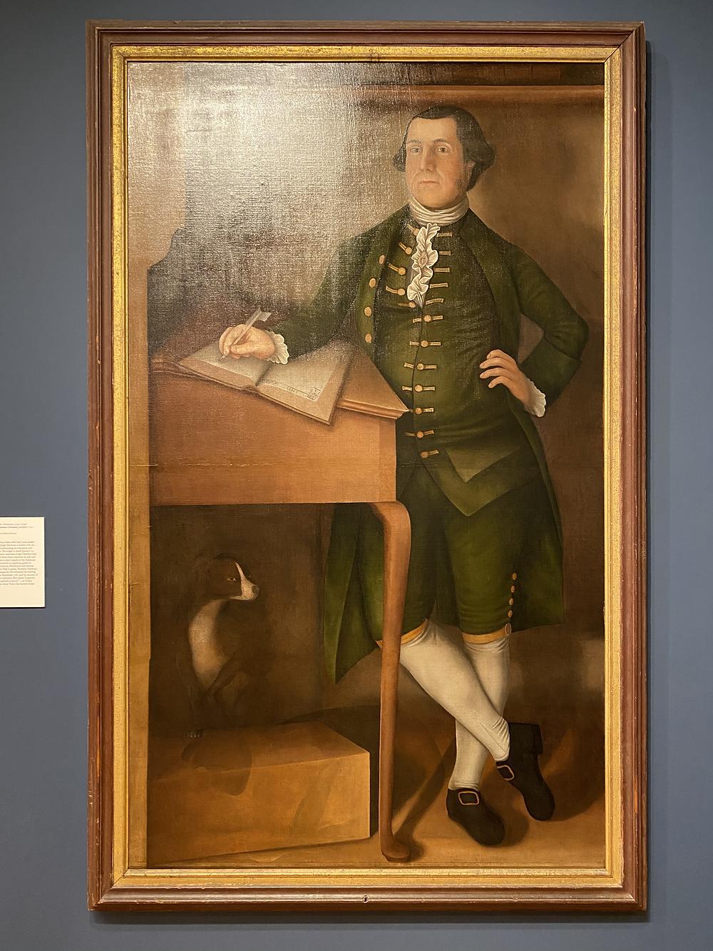 Winthrop Chandler: Judge Ebenezer Devotion (c. 1772)