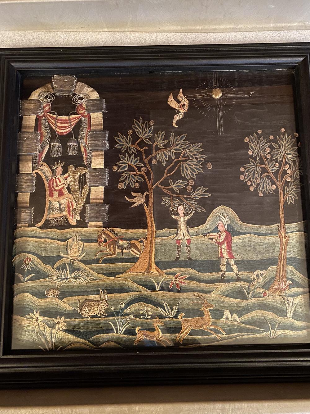 """Faith Trumbull Huntington (1742/43-1775), """"The Hanging of Absalom."""" (c. 1753)"""