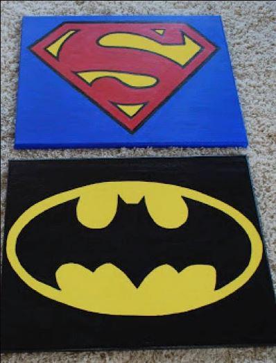 Painting: Super Heros