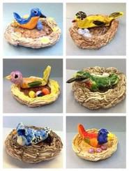 Clay: Bird Nests