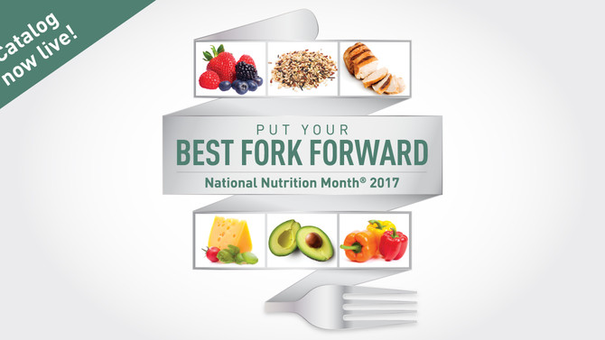 Happy National Nutrition Month®!