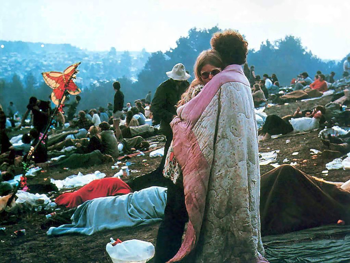 50 años de Woodstock, el colofón de la era hippie