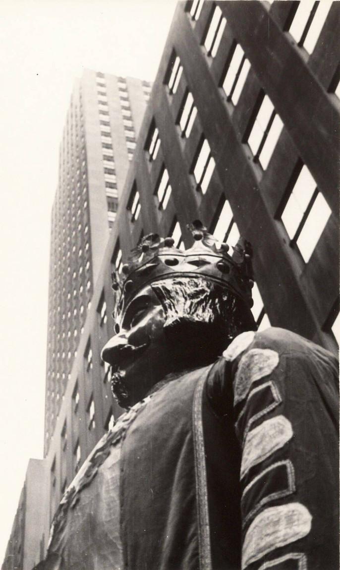 El día en que los Gigantes pamploneses desfilaron por la Quinta Avenida