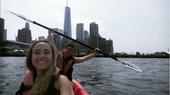 Kayak (gratis) en el Hudson
