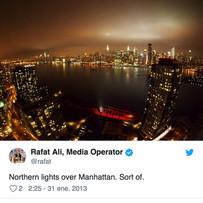Auroras borealesen Nueva York