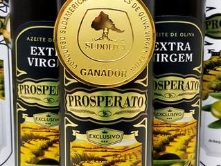 Prosperato Exclusivo Picual fica em 1º lugar no Concurso Sulamericano de Azeites