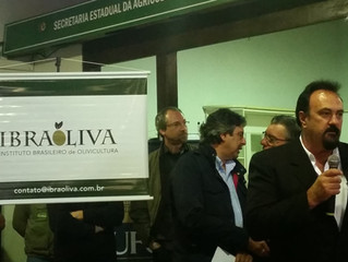 Diretor da Prosperato é nomeado presidente do Instituto Brasileiro de Olivicultura