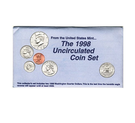 1998 Mint Set