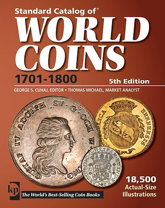 World Coin  Catalog 1701-1800