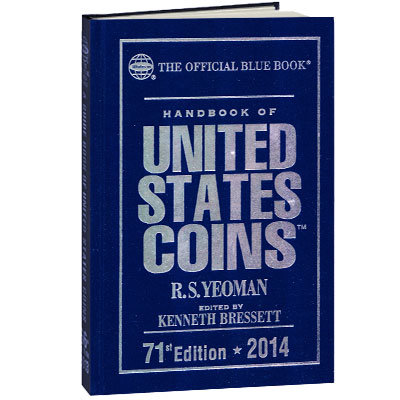 2014 Blue Book, U.S. coin Guide (Hard Cover)