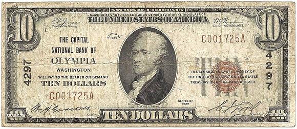 $10 Olympia WA National