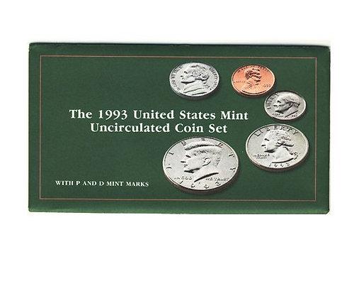 1993 Mint Set