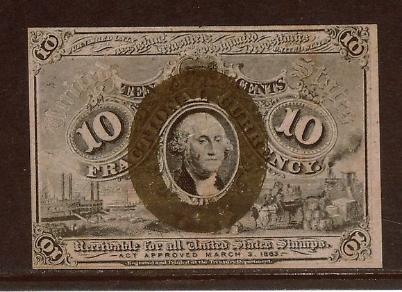FR. 1249 2nd Issue 10 Cents XF (Pending Sale)
