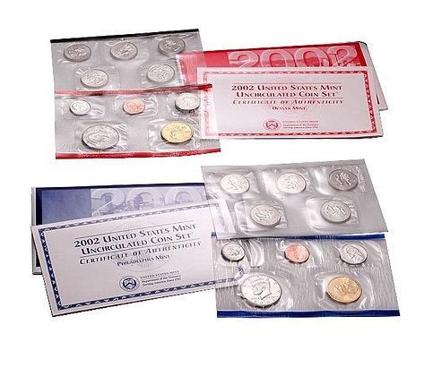 2002 Mint Set