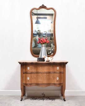 Farmhouse Dresser And Mirror