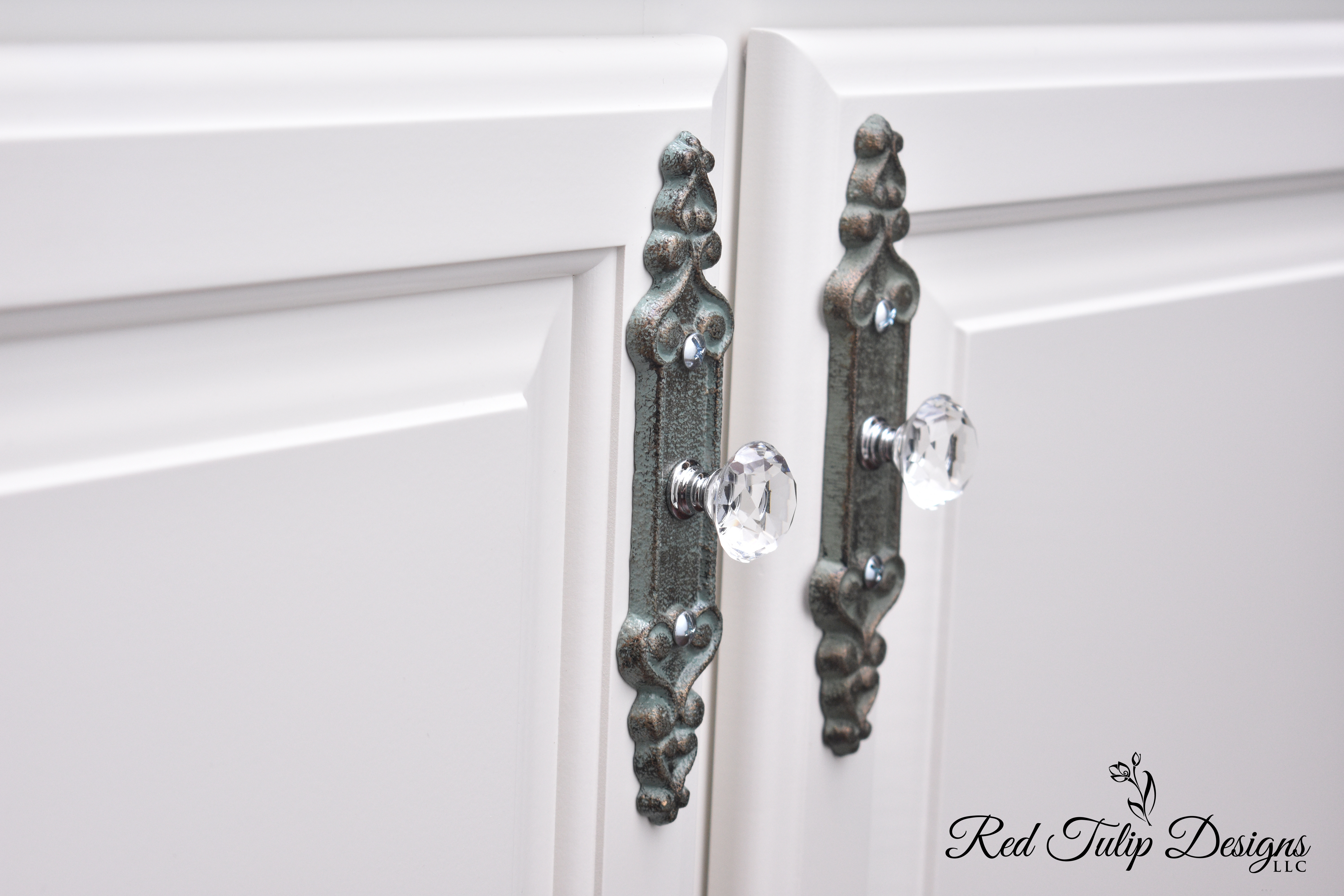 New Doors With a Little Bling