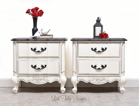 French Provincial Nightstands