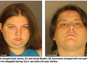 Furry Couple Is Arrested For Raping A 15-Year-Old Boy
