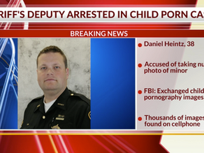 White Ohio Deputy Facing Child Porn Charges