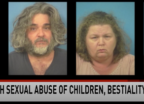 Four White Savages Charged With Sexual Abuse Of Children And Bestiality