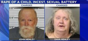 John Henley and Dava Henley