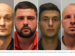 Four Remorseless White Brutes Raped A Woman For 90 Minutes After They Met At A Nightclub