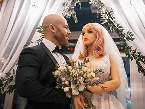 White Brute Who Married His Sex Doll Is In Love With Ashtray No