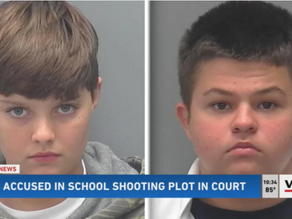 Two Little White Terrorists, Ages 13 And 14, Arrested After Plotting Columbine-Style Shooting Attack