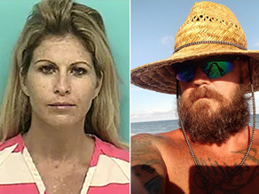 Diabolical White Couple Busted For Explicit Oral Sex Romp In Florida