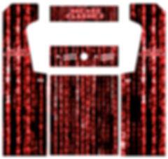 Red Source Code Arcade Art