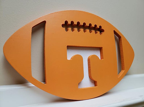 Tennessee Wooden Football Door Hanger Ohio State Alabama Georgia Florida