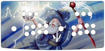 Arcade Wizard 2-Player Control Panel