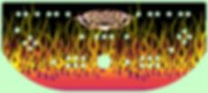 Flames Control Panel Art