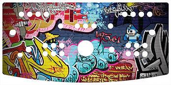 Graffiti 2-Player Control Panel